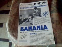 Vieux Papier Tract  Affichette Banania - Pubblicitari