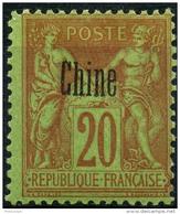 Chine (1894) N 7 * (charniere)