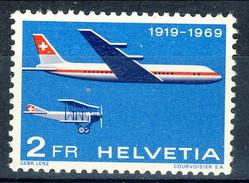 Svizzera Posta Aerea 1969 N. A46 MNH Cat. € 4 - Poste Aérienne