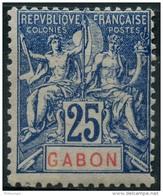 Gabon (1904) N 23 * (charniere)