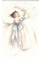 Lot 2 Petits Faire-part De Naissance Vierges Avec Enveloppe Des Années 40/50 - Birth & Baptism