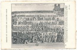 Moeurs Et Coutumes De L'Ancien PARIS - Editeur  ND Phot. N° 380 - Autres