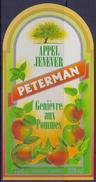 BELGIË/BELGIQUE : ## PETERMAN ## Appeljenever / Genièvre Aux Pommes: BRUGGEMAN,APPLE, - Labels