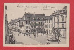 Sarreguemines  -- Deutsche Strasse - Sarreguemines