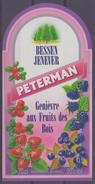 BELGIË/BELGIQUE : ## PETERMAN ## Bessenjenever / Genièvre Aux Fruis Des Bois:  BRUGGEMAN,BES,BAIE,BERRY, - Labels