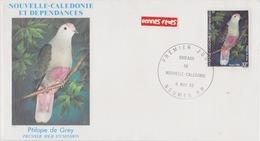 Nouvelle Caledonie 1er Jour 8 Nov 1982   Oiseaux - Nieuw-Caledonië