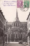 G , Cp , 68 , MULHOUSE , Rue Magenta Et L'Église St-Étienne - Mulhouse