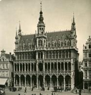 Belgique Bruxelles Brussels Maison Du Roi Ancienne Photo Stereo NPG 1900 - Stereoscopic