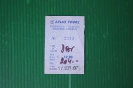 BIGLIETTO ESCURSIONE DUBROVNIK - 1971 - Transportation Tickets