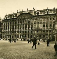 Belgique Bruxelles Maison Des Ducs De Brabant Maison Du Poids Public Ancienne Photo Stereo NPG 1900 - Stereoscopic