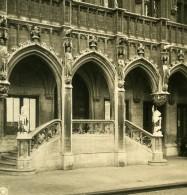 Belgique Bruxelles Hotel De Ville Escalier D'Estrade Ancienne Photo Stereo NPG 1900 - Stereoscopic