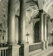 Allemagne Munich Münchner Residenz Palais Royal Kaisertreppe Ancienne Photo Stereo NPG 1900 - Photos Stéréoscopiques