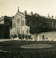 Allemagne Munich Eglise Allerheiligen-Hofkirche Münchner Residenz Ancienne Photo Stereo NPG 1900 - Photos Stéréoscopiques