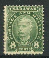 SARAWAK (  POSTE ) : Y&T  N° 34  TIMBRE  NEUF  AVEC  TRACE  DE  CHARNIERE   , A  VOIR . - Sarawak (...-1963)