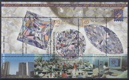 ISRAEL 2001 HB-65 USADO - Hojas Y Bloques