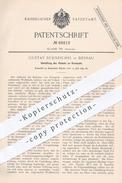 Original Patent - Gustav Schneichel , Dessau , 1892 , Umhüllung Von Volant An Krempeln   Spinnen , Spinnerei , Krempel ! - Historische Dokumente