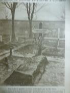 La Tombe De Garros Retrouvée A Vouziers 1918 - Documenti Storici