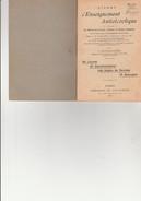FASCICULE LIVRET D'ENSEIGNEMENT ANTIALCOOLIQUE - 48 PAGES - ANNEE 1942 - Livres, BD, Revues