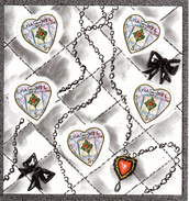 France.bloc No 66 De 2004.saint Valentin.chanel.n**. - Ongebruikt