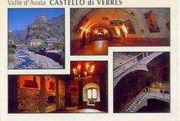 Valle D'aosta - Castello - Di Verres - 600-0121 - Formato Grande Non Viaggiata - E - Aosta