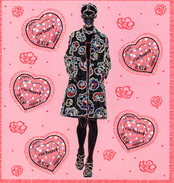 France.bloc No 80 De 2005.saint Valentin.cacharel.n**. - Mint/Hinged