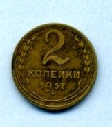 1937 2 Kopeck - Russie