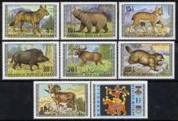MONGOLIA   562-9 MINT NEVER HINGED SET OF STAMPS ANIMALS - WILDLIFE  # S-795  ( - Zonder Classificatie