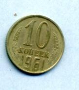 1961 10 Kopeck - Russie