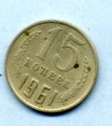 1961 15 Kopeck - Russie