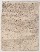 Acte Bretagne Recto Verso 1677 - Manuscrits