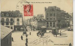 LORIENT - Rue Du Morbihan Et Rue Victor Massé (tramway ) - Lorient
