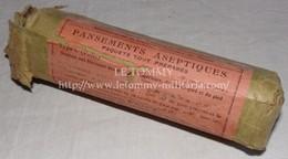 Paquet De Pansements Aseptiques Français WW2 France 1940 - 1939-45