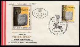 ÖSTERREICH 1965 - Keilschrift Auf Tontafel - FDC - Archäologie
