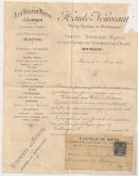 SAGE 1C Sur Bande Imprimé A LA VILLE DE MACON Saone Et Loire. ROBES ET COSTUMES. - 1877-1920: Periodo Semi Moderno