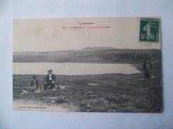 Cpa Nasbinals 48 Lozère  Lac De St Andreol - France
