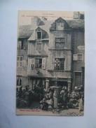 Cpa Saint Chely D' Apcher 48 Lozère Vieilles Maisons - Saint Chely D'Apcher