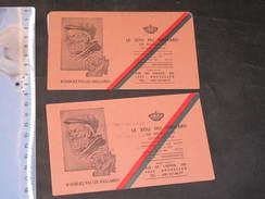 LE SOU DU VIEILLARD DE BRUXELLES - OEUVRE ROYALE -2 CARTES MEMBRE DE DEMOL ANTOINE - 1979  ET 1980 - Vieux Papiers