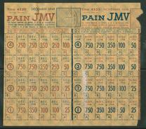 Carte D'alimentation Pour Le Pain JMV 1948 - Vieux Papiers