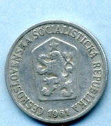 1961 10 Halers - Tchécoslovaquie