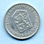 1966 10 Halers - Tchécoslovaquie