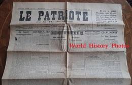 Journal Ancien - LE PATRIOTE De  HAUTE MARNE - 22 Juillet 1923- Chroniques Régionales & Locales De Haute Marne - Journaux - Quotidiens