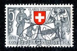 11023 Switzerland 1952  Michel # 570 (o) Offers Welcome! - Gebraucht
