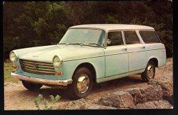 730 - Peugeot 404 Break Station Wagon 1965 - Carte Originale Publicité USA - Original Dealer Advertising Postcard - Turismo