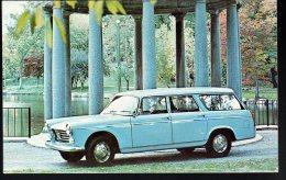 731 - Peugeot 404 Break Station Wagon 1965 - Carte Originale Publicité USA - Original Dealer Advertising Postcard - Voitures De Tourisme