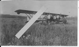 1916 Avion Caudron G3 Français Capturé Par Les Allemands 1 Carte Photo 14-18 1914-1918 Ww1 1wk - War, Military