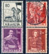 Svizzera 1958-59 Serie N. 612-615 Usat1 Cat. € 6 - Usados