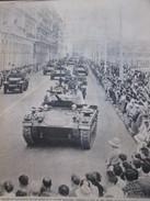 2 ème Division  D Infanterie à ALGER  1959     Kabilye  Chars Char  Algérie Guerre D - Old Paper