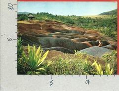 CARTOLINA NV MAURITIUS - Coloured Earth At Chamarel - 10 X 15 - Mauritius