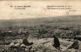 ABLAIN ST NAZAIRE  LES RUINES DE LA JOLIE LOCALITE - France