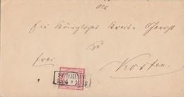 DR Brief EF Minr.4 R2 Schrimm 15.4. - Briefe U. Dokumente